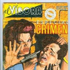 Cómics: LA CUPULA. EL VIBORA ESPECIAL. EXTRA. 9. CRIMEN.. Lote 295578133