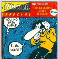 Cómics: LA CÚPULA. EL VIBORA ESPECIAL. EXTRA. 2. EL GOLPE.. Lote 295579703