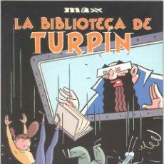 Cómics: TODO MAX 13: LA BIBLIOTECA DE TURPIN. Lote 295835573