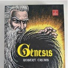 Cómics: GENESIS - ROBERT CRUMB - NOVELA GRAFICA 1ª ED. TOMO TAPA DURA ~ LA CUPULA (2009). Lote 295861788