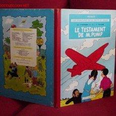 Cómics: JO, ZETTE ET JOCKO. LE TESTAMENT DE M. PUMP (CASTERMAN). Lote 25810547