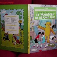 Cómics: JO, ZETTE ET JOCKO. LE MANITOBA NE REPOND PLUS. (CASTERMAN). Lote 25810550