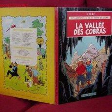 Cómics: JO, ZETTE ET JOCKO. LA VALLEE DES COBRAS. (CASTERMAN). Lote 25810549