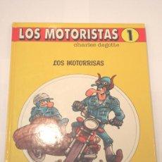 Cómics: LOS MOTORISTAS - 1990 - EDICIONES B - TAPA DURA. Lote 3773257