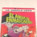 Cómics: LA JUNGLA LOCA-EL ANIMAL ENMASCARADO - TAPA DURA. Lote 3779346