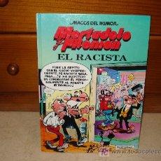 Cómics: MORTADELO Y FILEMÓN MAGOS DEL HUMOR - EL RACISTA. Lote 30609189