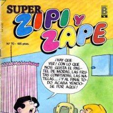 Cómics: SUPER ZIPI Y ZAPE - Nº 70 - EDICIONES B. Lote 7801513