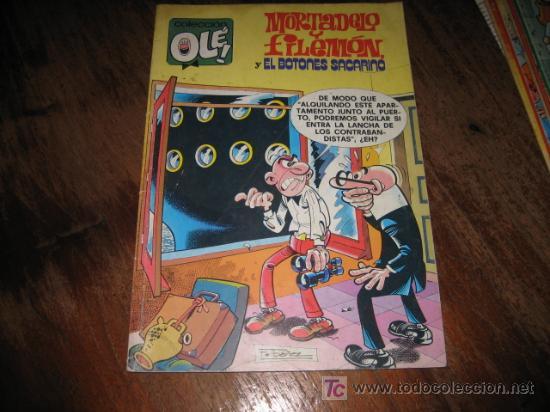 MORTADELO Y FILEMON Y EL BOTONES SACARINO (Tebeos y Comics - Ediciones B - Clásicos Españoles)