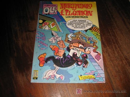 MORTADELO Y FILEMON LOS MONSTRUOS (Tebeos y Comics - Ediciones B - Clásicos Españoles)
