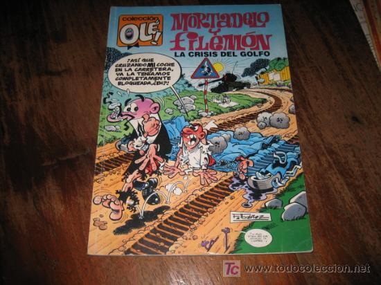 MORTADELO Y FILEMON LA CRISIS DEL GOLFO (Tebeos y Comics - Ediciones B - Clásicos Españoles)