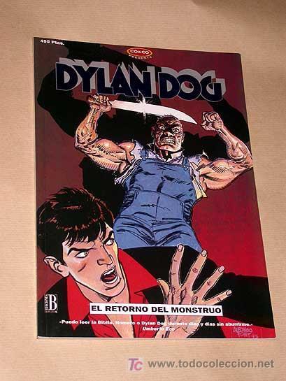 DYLAN DOG Nº 1. EL RETORNO DEL MONSTRUO. SCLAVI Y PICCATTO. PORTADA ALFONSO FONT. CO & CO 1994. (Tebeos y Comics - Ediciones B - Otros)
