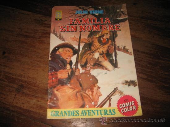 JULIO VERNE Nº14 FAMILIA SIN NOMBRE (Tebeos y Comics - Ediciones B - Otros)