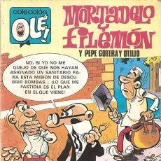 Cómics: COLECCIÓN OLÉ - MORTADELO Y FILEMÓN Y PEPE GOTERA Y OTILIO - EDICIONES B - GRUPO Z (AÑO 1987). Lote 27124253