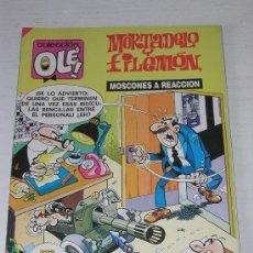 Cómics: COLECCION OLE: MORTADELO Y FILEMON MOSCONES A REACCION Nº 176 M140 AÑO 1989. Lote 11842924