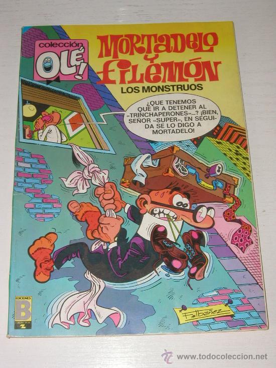 COLECCION OLE: MORTADELO Y FILEMON - EL PREBOSTE SE SEGURIDAD Nº 103 M 59 AÑO 1988 (Tebeos y Comics - Ediciones B - Clásicos Españoles)