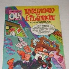 Cómics: COLECCION OLE: MORTADELO Y FILEMON - EL PREBOSTE SE SEGURIDAD Nº 103 M 59 AÑO 1988. Lote 11048847