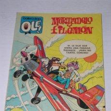 Cómics: COLECCION OLE: MORTADELO Y FILEMON - VALIENTES BATRACIOS Nº 213 AÑO 1980. Lote 13347859