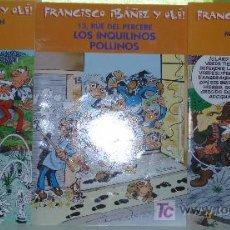 Cómics: ¡¡OCASION!!, COLECCION FRANCISCO IBAÑEZ Y OLÉ! ; 3 NÚMEROS COMO NUEVOS. Lote 26594978