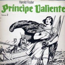 Cómics: EL PRINCIPE VALIENTE Nº2 (EDICIONES B.O.) HAL FOSTER. Lote 10639085