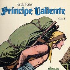 Cómics: EL PRINCIPE VALIENTE Nº6 (EDICIONES B.O.) HAL FOSTER. Lote 10639223