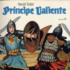 Cómics: EL PRINCIPE VALIENTE Nº 17 (EDICIONES B.O.). HAL FOSTER. Lote 10664952