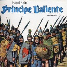 Cómics: EL PRINCIPE VALIENTE Nº 21 (EDICIONES B.O.). HAL FOSTER. Lote 10677379