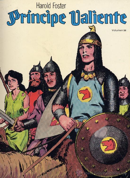 EL PRINCIPE VALIENTE Nº 38 (EDICIONES B.O.). HAL FOSTER (Tebeos y Comics - Ediciones B - Otros)