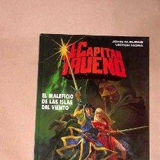 Cómics: EL CAPITÁN TRUENO. EL MALEFICIO DE LAS ISLAS DEL VIENTO. VÍCTOR MORA, JOHN M. BURNS. ED. B 1993.++++. Lote 27147227