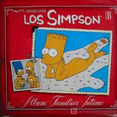 Cómics: LOS SIMPSON. ÁLBUM FAMILIAR ÍNTIMO. GROENING MATT. 1ª ED. 1992. Lote 12526640