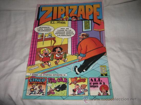 ZIPIZAPE Nº 3 EDICIONES B 1987 (Tebeos y Comics - Ediciones B - Otros)