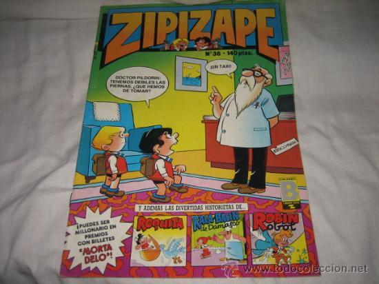ZIPIZAPE Nº 36 EDICIONES B 1987 (Tebeos y Comics - Ediciones B - Otros)