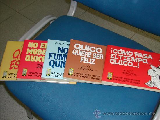 QUICO EL PROGRE. COLECCION COMPLETA. JOSE LUIS MARTIN. . CINCO TOMOS (Tebeos y Comics - Ediciones B - Otros)