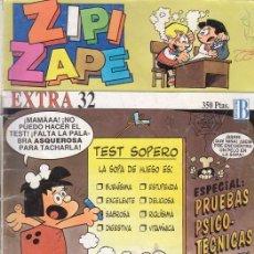 Cómics: ZIPI Y ZAPE EXTRA Nº 32. CON AVENTURA LARGA DE EL CAPITAN PANTERA Y DE LOS PITUFOS. EDICIONES B.. Lote 26759535