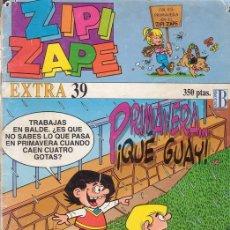 Cómics: ZIPI Y ZAPE EXTRA Nº 39. CON AVENTURA LARGA DE LOS PITUFOS. EDICIONES B.. Lote 26759539