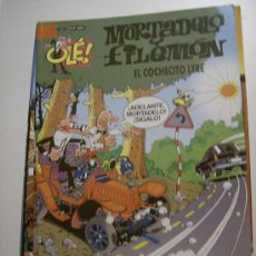 Comics : OLÉ MORTADELO Y FILEMÓN Nº 21. EDICIONES B, 4ª ED, 2005.. Lote 16318917