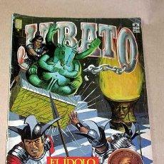 Cómics: JABATO EDICIÓN HISTÓRICA Nº 74. EL ÍDOLO KUALI. EDICIONES B, 1987. BERNAL, MORA, DARNÍS.+++. Lote 27280805