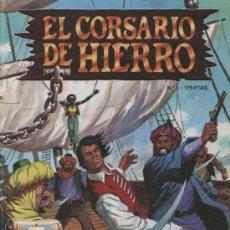 Cómics: EL CORSARIO DE HIERRO - Nº 3 - EDICIONES B. 1987. Lote 16907740