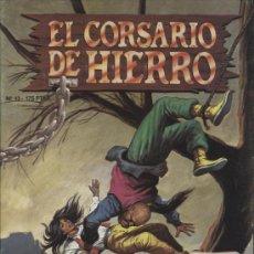 Cómics: EL CORSARIO DE HIERRO - Nº 13 - EDICIONES B. 1988. Lote 16907823