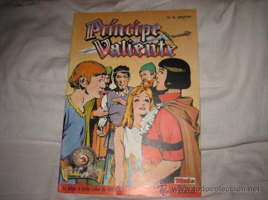 PRINCIPE VALIENTE Nº 16 EDICIONES B 1988 (Tebeos y Comics - Ediciones B - Otros)