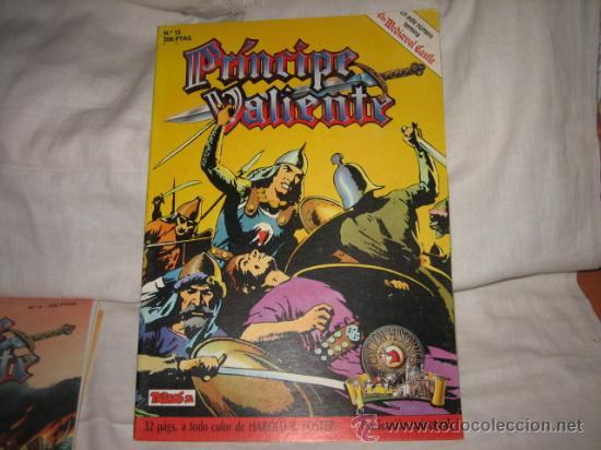 PRINCIPE VALIENTE Nº 15 EDICIONES B 1988 (Tebeos y Comics - Ediciones B - Otros)