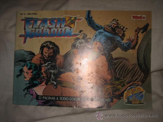 FLASH GORDON Nº 6 EDICIONES B 1988 EDICION HISTORICA (Tebeos y Comics - Ediciones B - Otros)