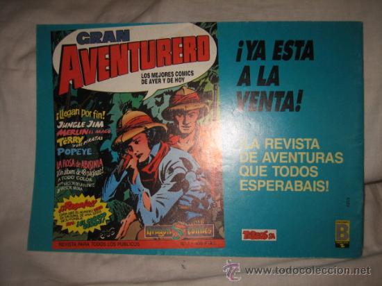 Cómics: FLASH GORDON Nº 6 EDICIONES B 1988 EDICION HISTORICA - Foto 3 - 17860086