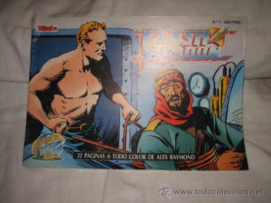 FLASH GORDON Nº 7 EDICIONES B 1988 EDICION HISTORICA (Tebeos y Comics - Ediciones B - Otros)