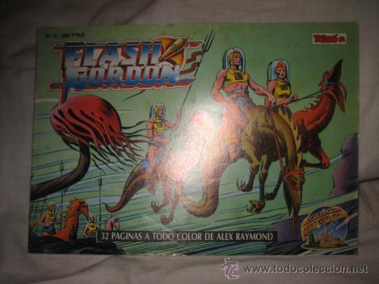 FLASH GORDON Nº 5 EDICIONES B 1988 EDICION HISTORICA (Tebeos y Comics - Ediciones B - Otros)