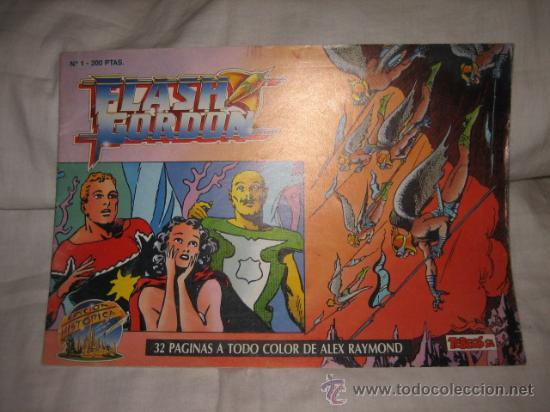 FLASH GORDON Nº 1 EDICIONES B 1988 EDICION HISTORICA (Tebeos y Comics - Ediciones B - Otros)