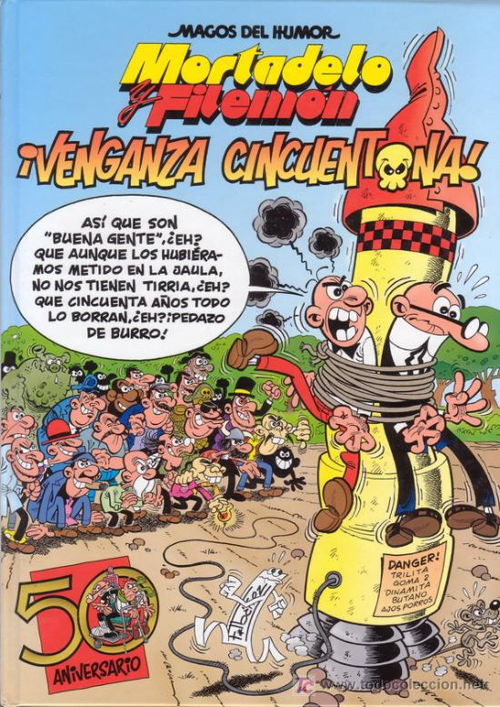 mortadelo y filemon 161 venganza cincuentona es comprar comics cl 225 sicos espa 241 oles editorial