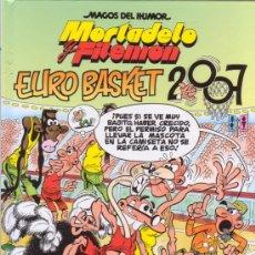 Cómics: MORTADELO Y FILEMON. EUROBASKET 2007. MAGOS DEL HUMOR 116. EDICIONES B.. Lote 26715140