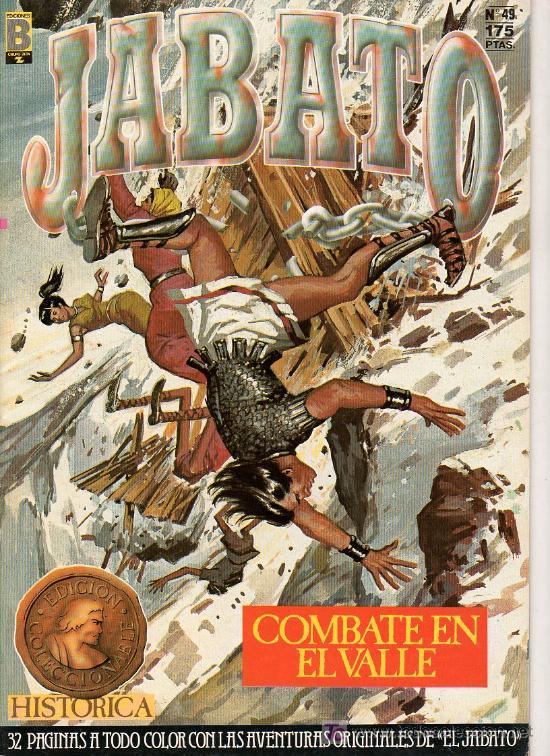 JABATO Nº 49. COMBATE EN EL VALLE. EDICIONES B. GRUPO ZETA. (Tebeos y Comics - Ediciones B - Clásicos Españoles)