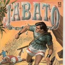 Cómics: JABATO Nº 58. EL ALUD VIVIENTE. EDICIONES B. GRUPO ZETA. . Lote 18011485