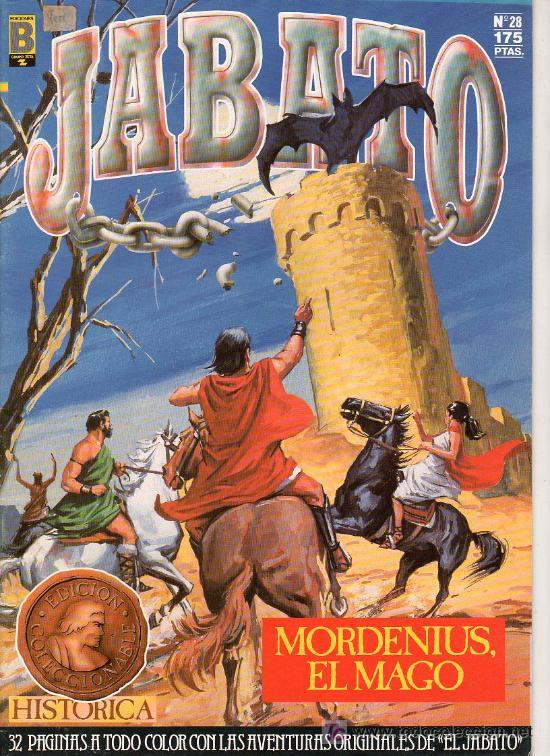 JABATO Nº 28. MORDENIUS EL MAGO. EDICIONES B. GUPO ZETA. (Tebeos y Comics - Ediciones B - Clásicos Españoles)